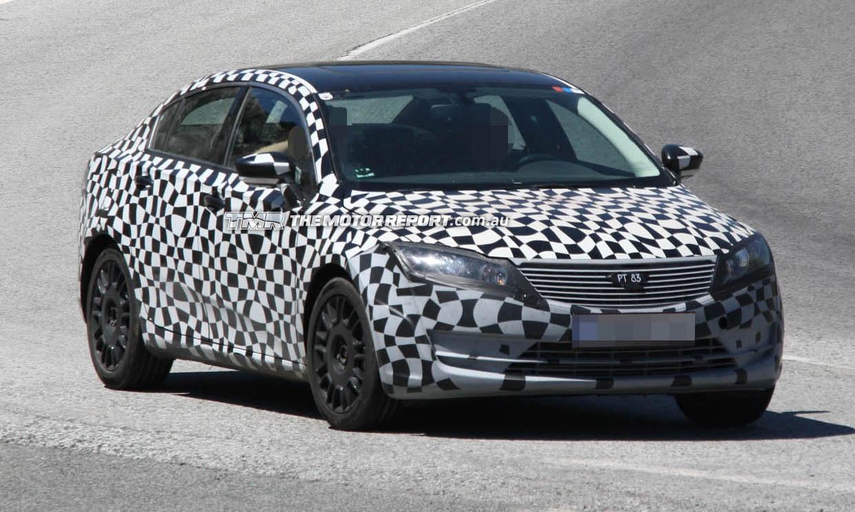 Qoros Startup's First Car Spied