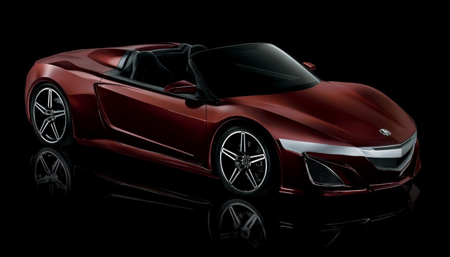Acura NSX Roadster The True Star Of New Avengers Film