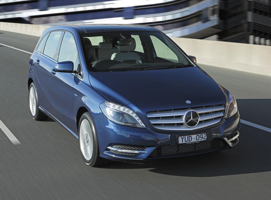 2012 Mercedes-Benz B-Class On Sale In Australia