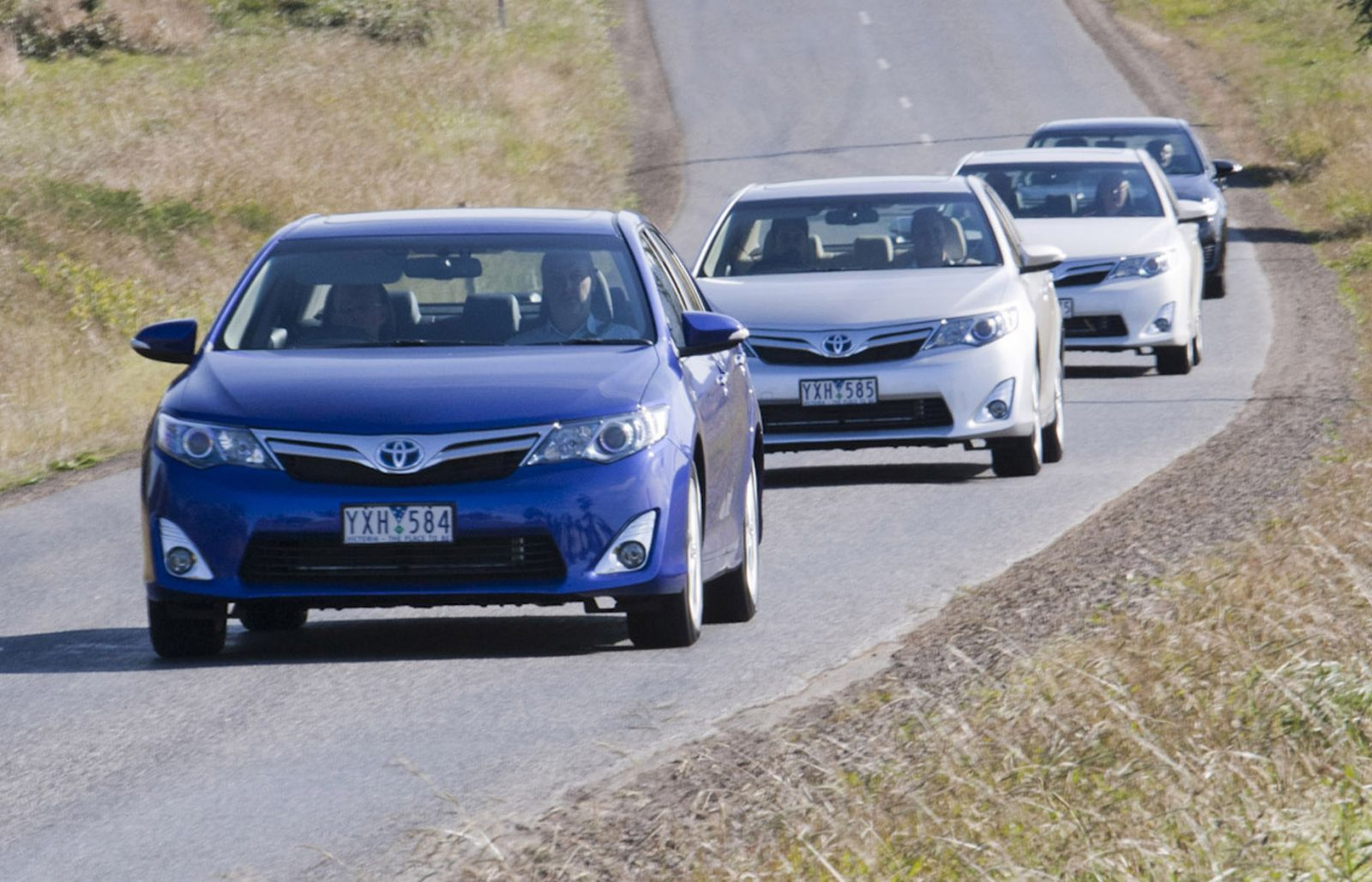 2012 Camry Hybrid H And HL First Drive Review