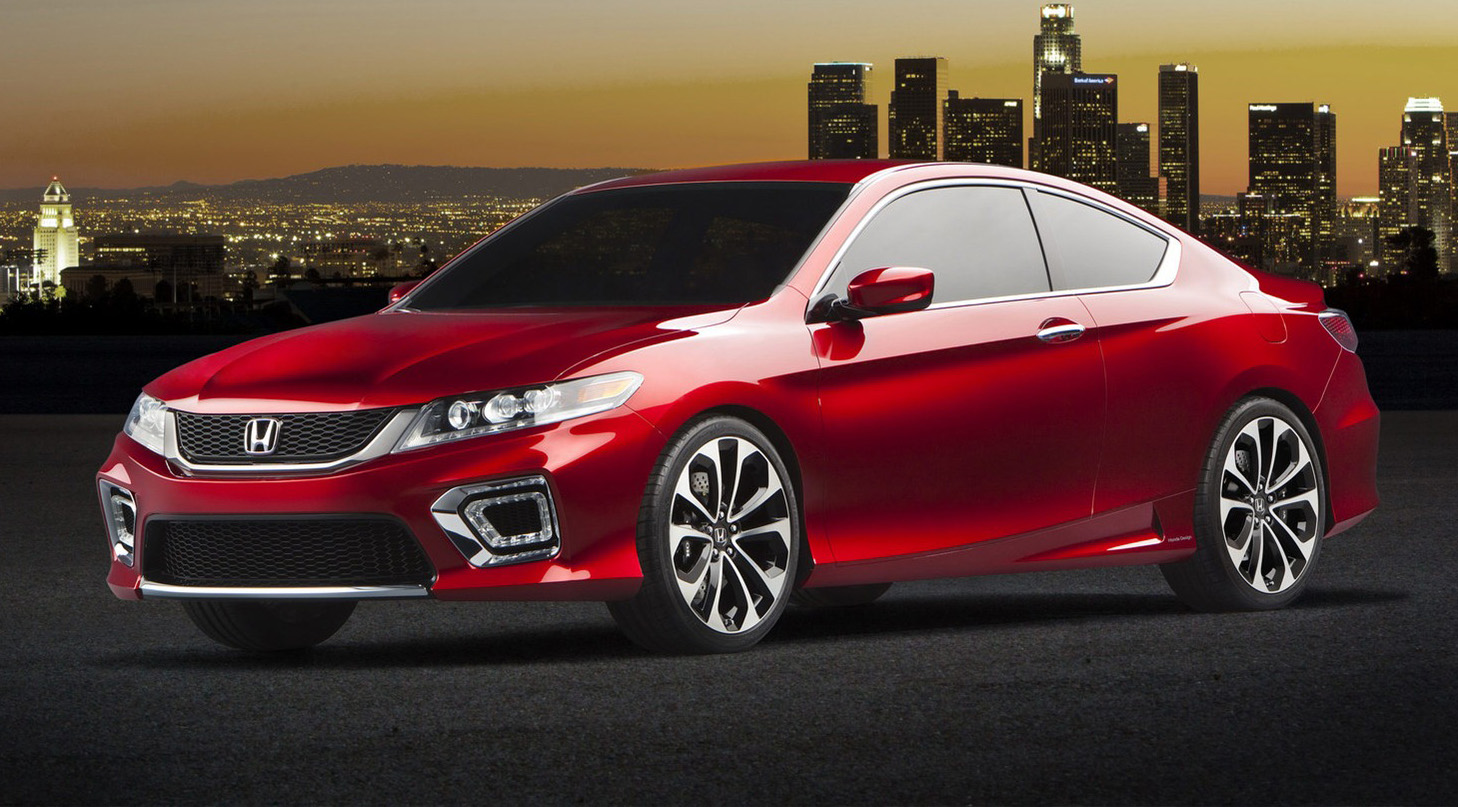 2013 Honda Accord Coupe Concept Debuts In Detroit