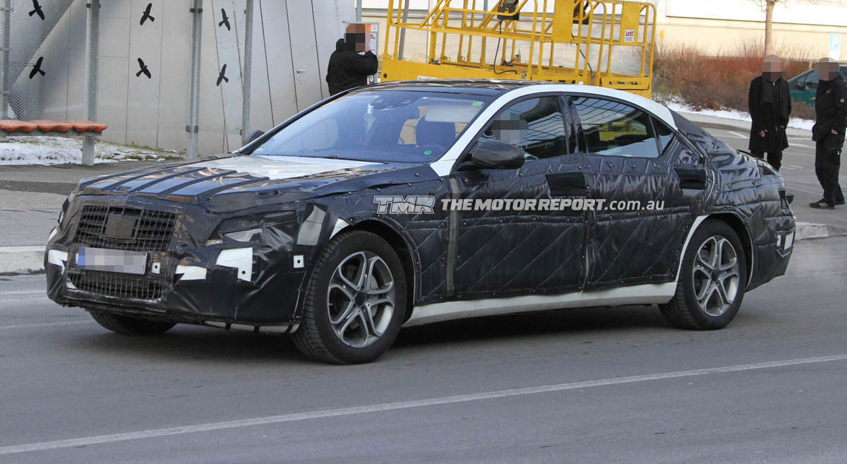 2013 Mercedes-Benz S-Class Spied In Testing
