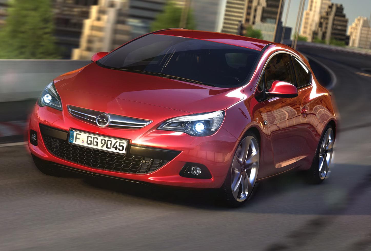 Opel Astra GTC Confirmed For Australia