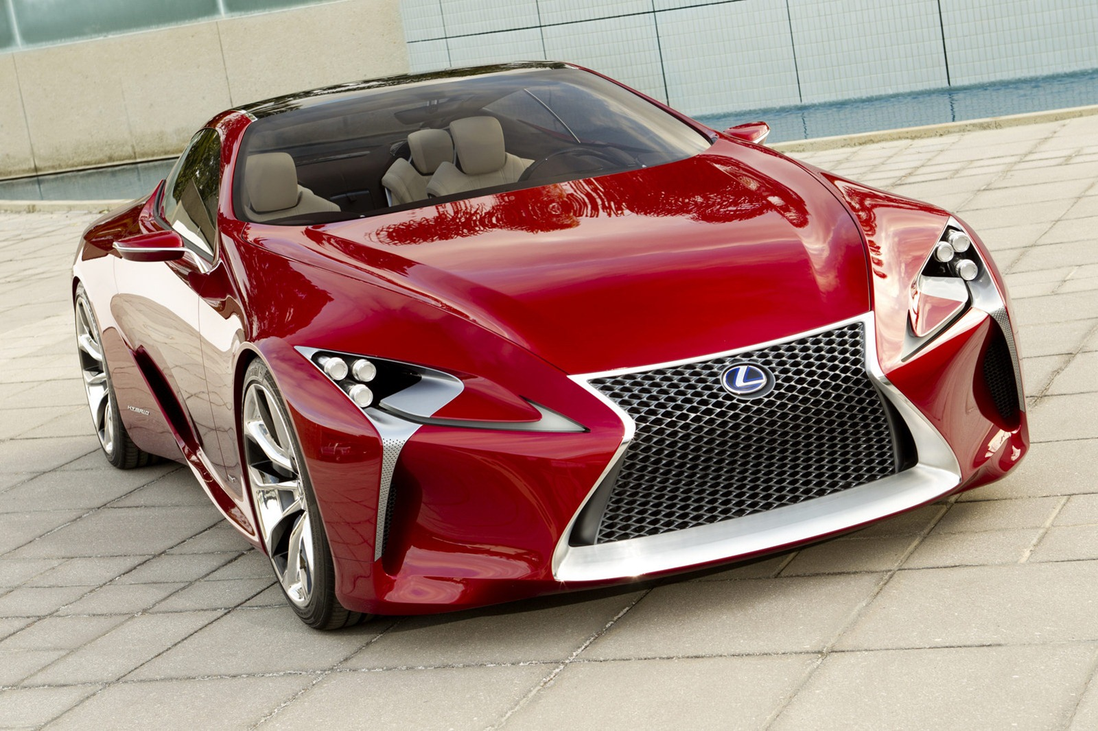 Lexus LF-LC Revealed Further As New Images Surface