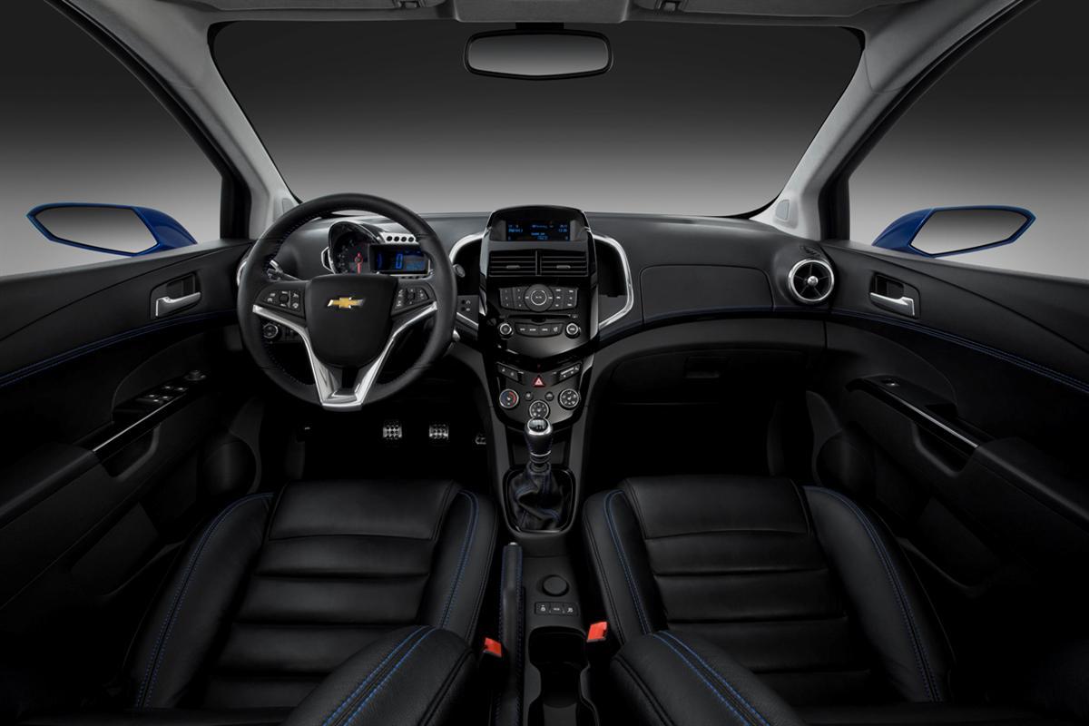 2011 Chevrolet Aveo RS show car. X11CH_AV012  (United States)