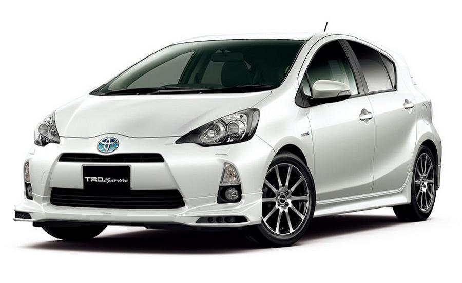 TRD Tweaks Prius C For Japan, Australian Debut Set For Early 2012
