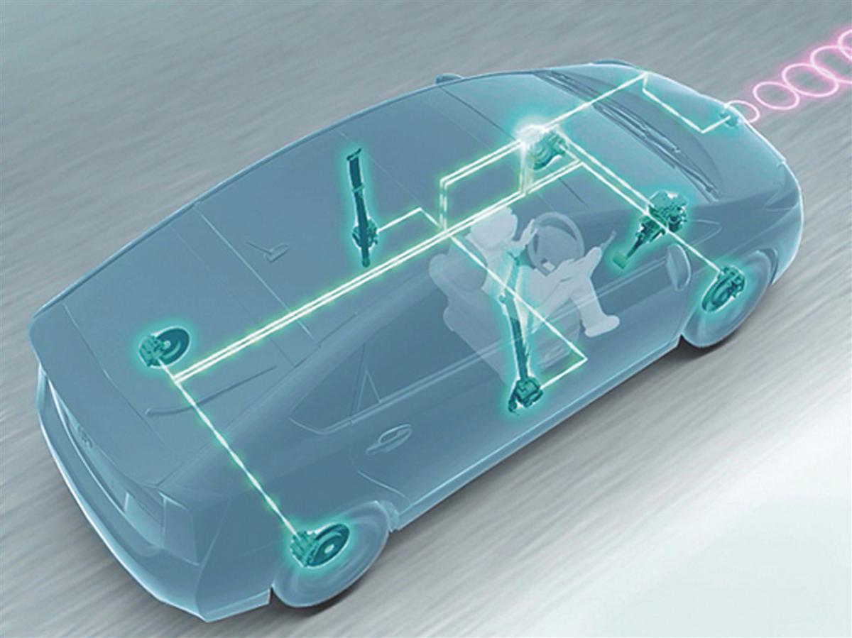 2009 Toyota Prius radar sensor