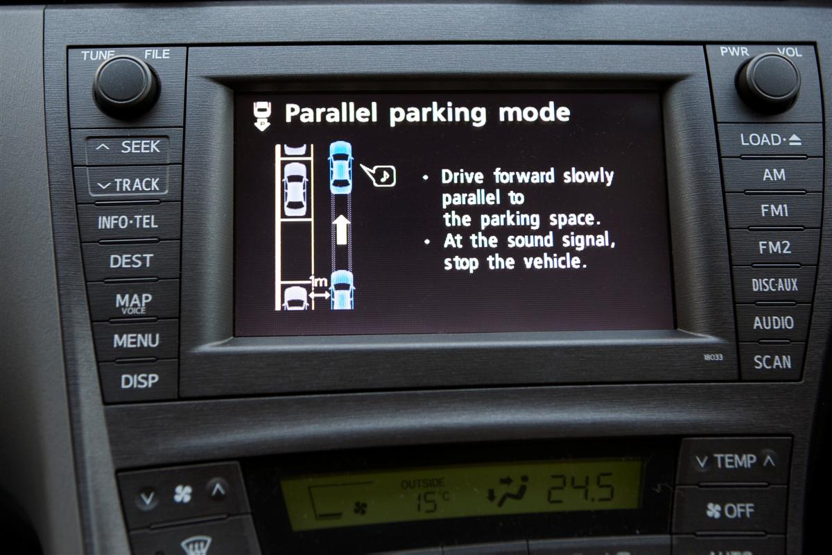 2009 Toyota Prius Intelligent Park Assist (IPA)