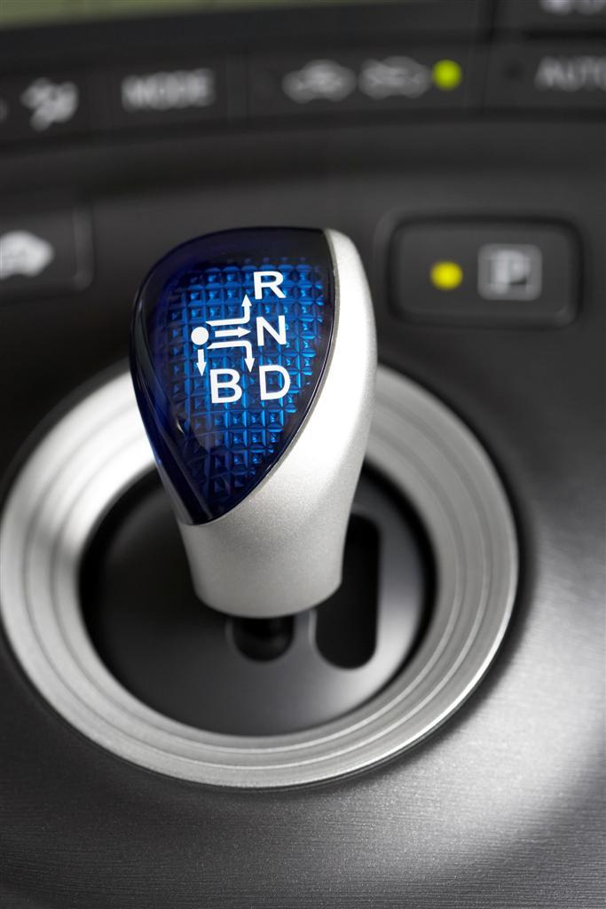 2009 Toyota Prius transmission lever