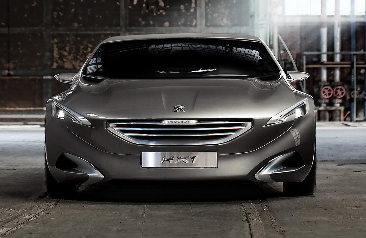 Peugeot HX1 Concept Bound For Frankfurt