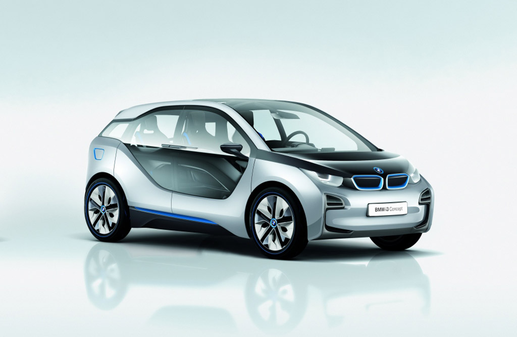 BMW i3 Electric Vehicle Concept Revealed