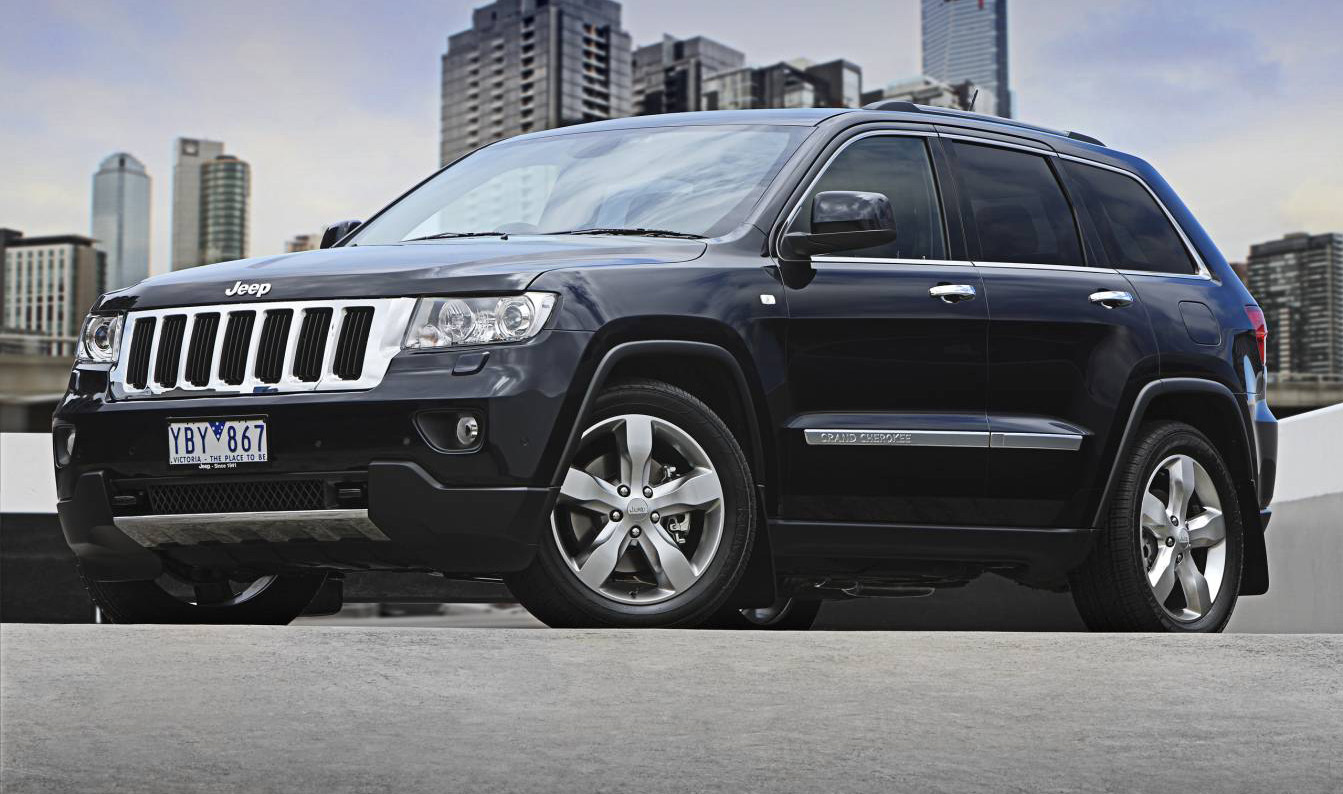 Jeep Grand Cherokee Gets Diesel Engine For Australian Line-up