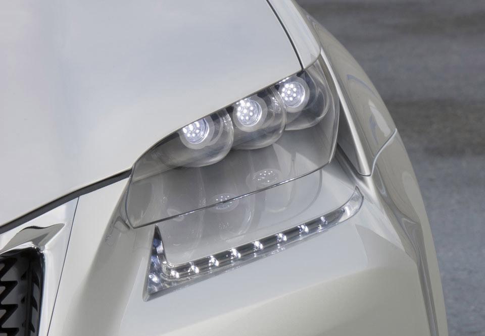 Lexus LF-Gh Concept Teased Ahead Of New York Debut