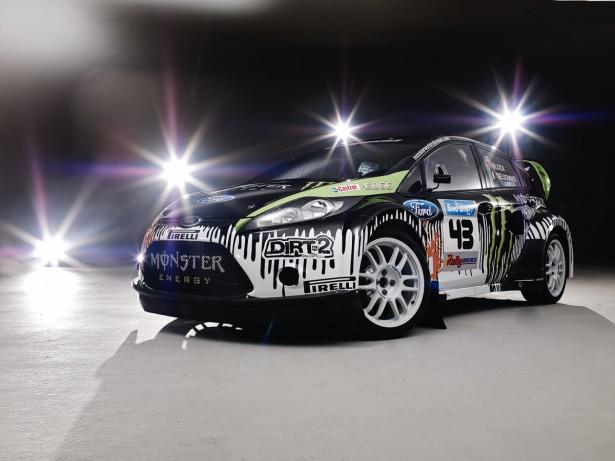 Ken Block Flips His Monster Rally Ford Fiesta