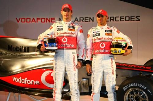 2010 McLaren MP4-25 F1 Car