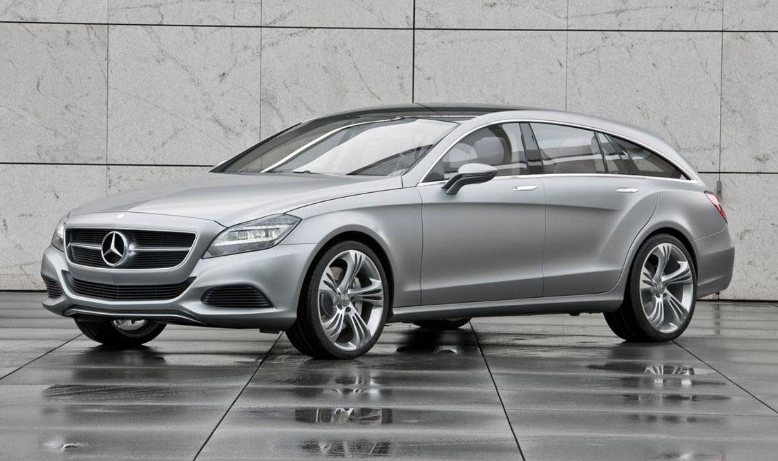 Mercedes' CLS Shooting Brake Launching In 2012
