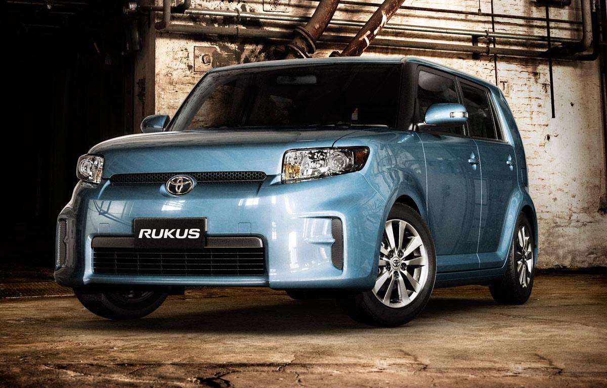 2010 Toyota Rukus Launched In Australia