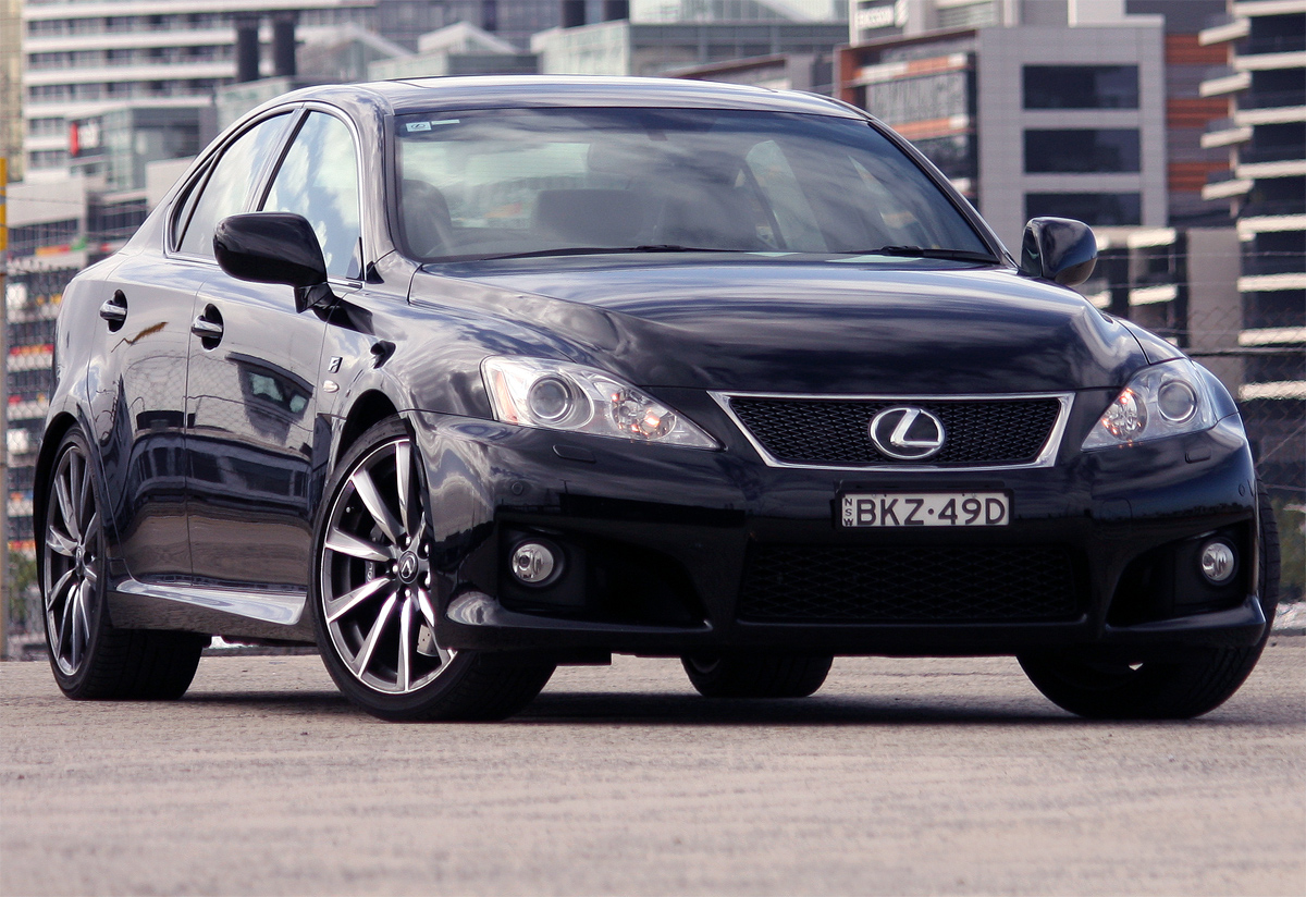 2010 Lexus IS F Road Test Review