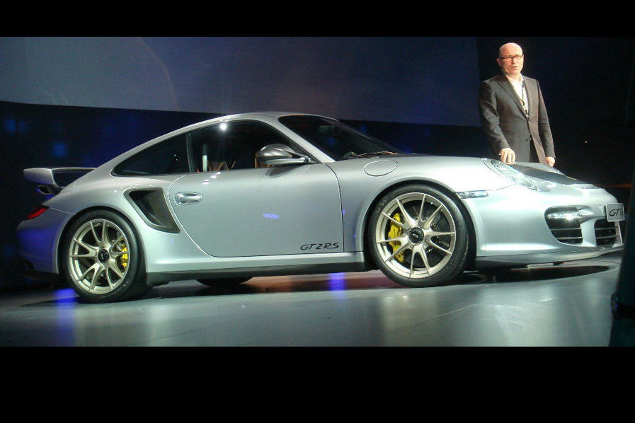 2011 Porsche 911 GT2 RS Revealed Further In New Event 'Spy' Photos