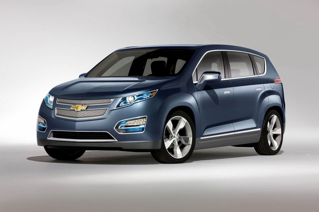 Chevrolet Volt MPV5 Concept Unveiled, Holden A Player In Its Design