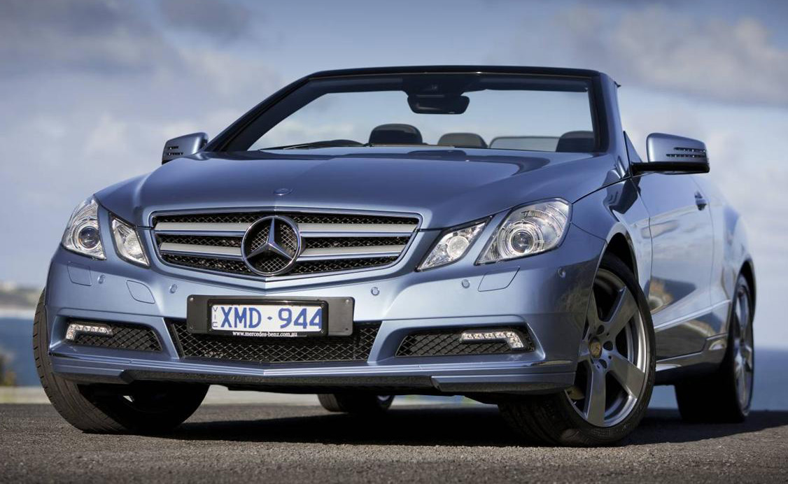 2010 Mercedes-Benz E-Class Cabriolet Launched In Australia