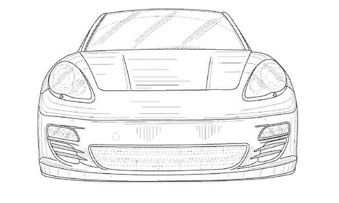 Porsche Panamera Cabriolet Patent Application