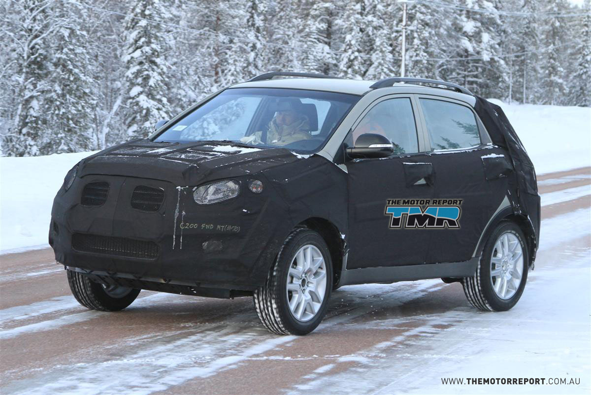 2011 SsangYong C200 Spied Cold-Weather Testing