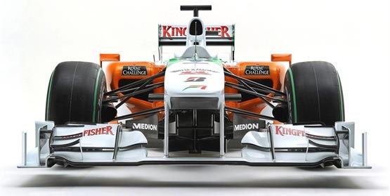 F1: 2010 Force India VJM03 Revealed