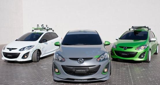 Mazda2 Concepts At LA Auto Show