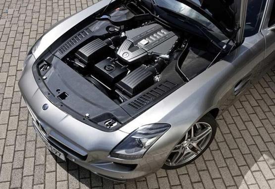 2010 Mercedes-Benz SLS AMG - Leaked Pics