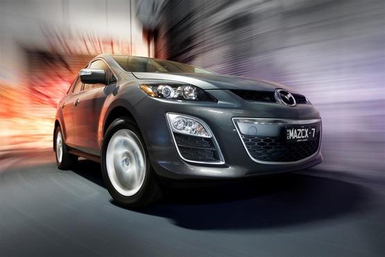 2010 Mazda CX-7 Range Launched In Australia