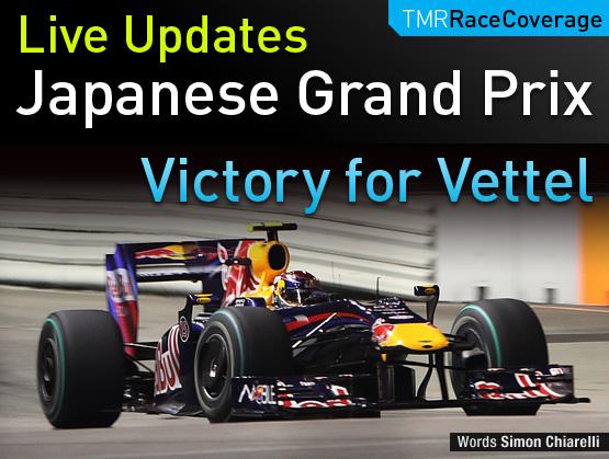 LIVE UPDATES: Japanese F1 Grand Prix
