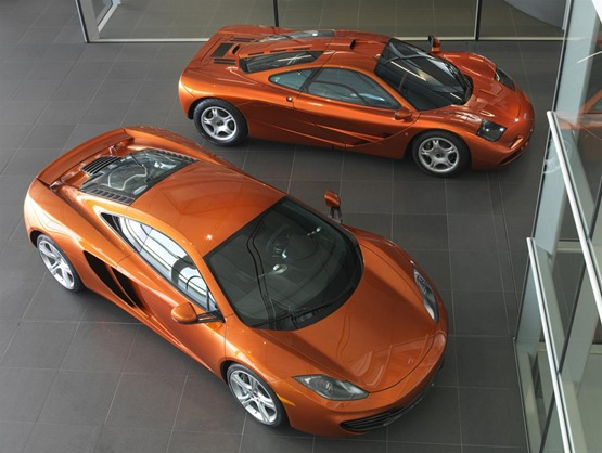 McLaren MP4-12C: New Images, Video With Company Bosses Ron Dennis And Antony Sheriff
