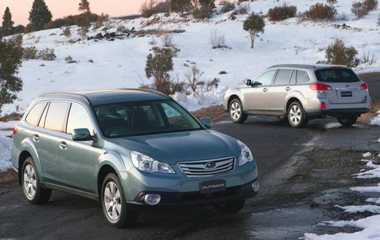2010 Subaru Outback Launched Into Australian Market