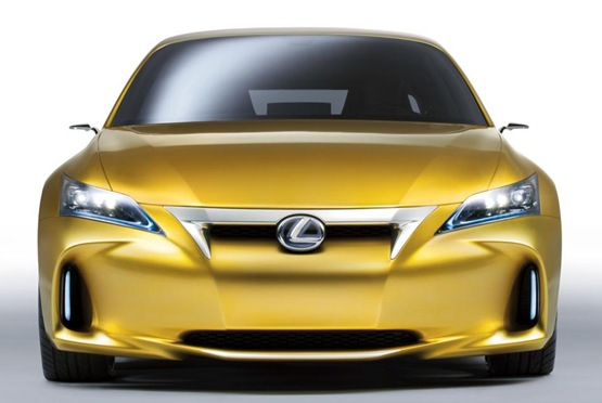 Lexus LF-Ch Compact Hybrid Concept Revealed: Full Gallery