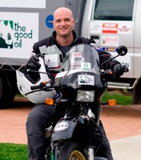 Biodiesel Bike To Tackle 20,000km Trip Around Australia