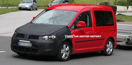 2010 Volkswagen Caddy Spied