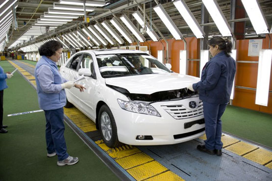 Toyota US Increases Production In Anticipation Of Sales Rebound