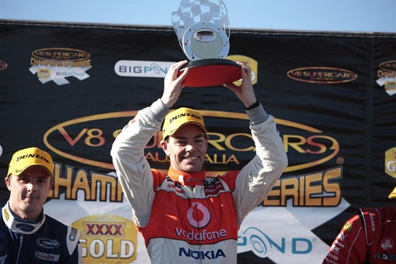 V8 Supercars: Craig Lowndes Sweeps Winton Round