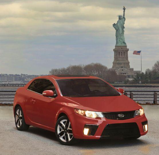 2010 Kia Forte Koup Breaks Cover In New York