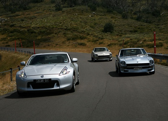 Photo Of The Day: 370Z With Its Older Brothers