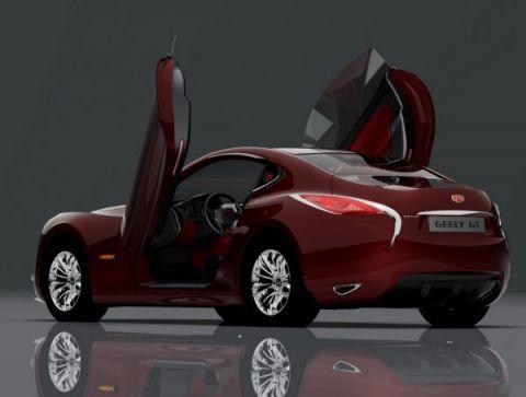 Geely GT Concept Returns