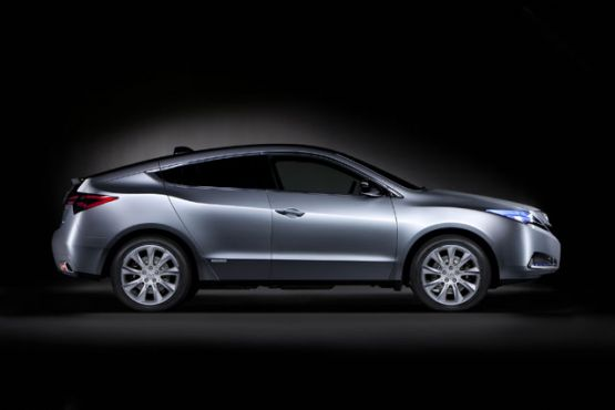 Acura ZDX Crossover Concept Images And Details Revealed