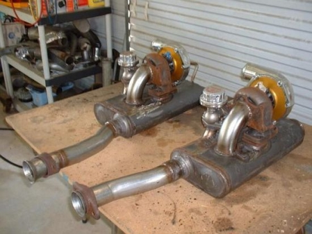 Lessons In Stupidity: Muffler-Mounted Turbochargers
