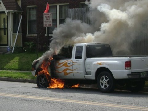 Photo Of The Day: Oh The Flames