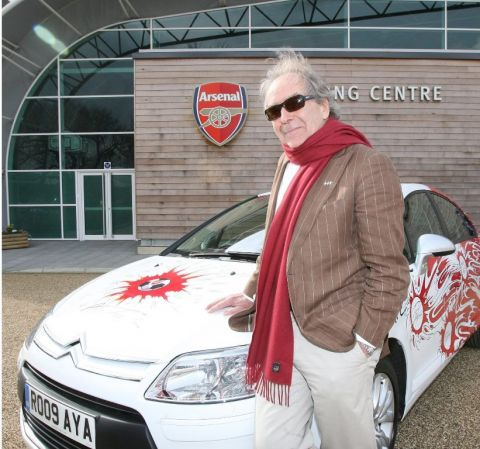 Citroen Creates Arsenal-Themed C4 For Charity Event