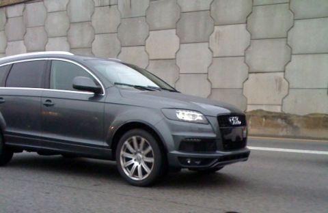 2011 Audi Q7 Update Caught On Camera