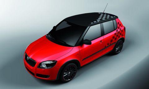 Skoda Unveils Fabia Sport Design Concept in Geneva