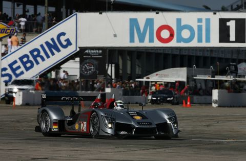 Audi R15 TDI Wins Debut Race at Sebring