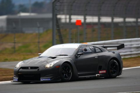 Nissan Confirms R35 GT-R FIA GT Entry For 2009 And 2010